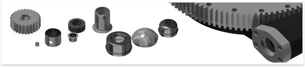 VNC Bearing offers additional products, such as grease caps, bearing repair parts, gears, cam followers, and bushings.