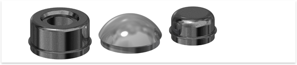 Grease caps are the peg-like covers found at the center of a wheel that retain lubrication products designed for keeping your ball and roller bearings performing at high efficiency.