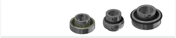 VNC supplies insert bearings - a type of radial ball bearing designed for simplified installation and assembly.